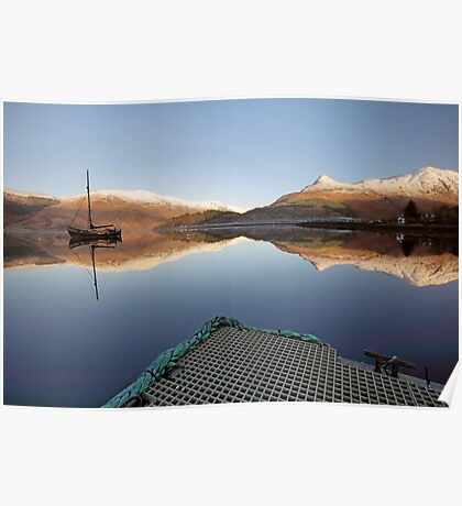 Loch Leven Reflection Poster