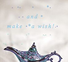 Make a wish! by Sandy Maya Matzen