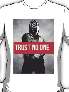 "2PAC ""Trust No One"" SUPREME T-Shirt"