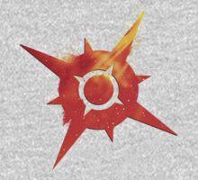 Pokémon Sun Logo One Piece - Short Sleeve