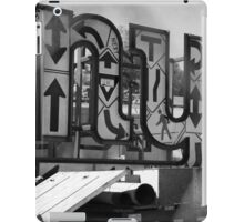 New York Crosswalk Arrows iPad Case/Skin