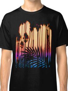 Tropical Paradise Sunset Classic T-Shirt