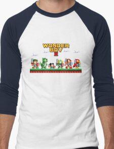 Wonder Boy Men's Baseball ¾ T-Shirt