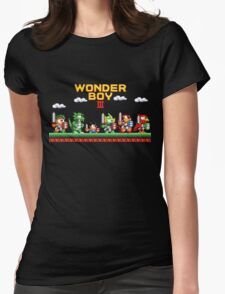 Wonder Boy Womens Fitted T-Shirt