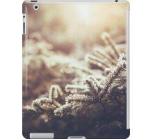 Hint of winter iPad Case/Skin