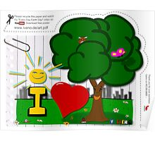 I love trees  Poster