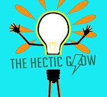 The Hectic Glow Poster (found in Hazel's room) by fun-ghoul