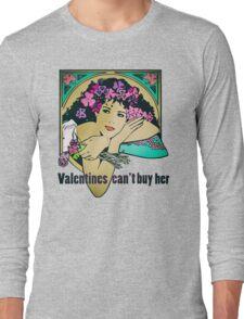 Bob Dylan Lyrics Music Inspired Vintage Girl Art Long Sleeve T-Shirt