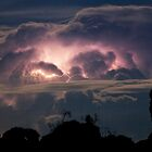 Storm Cell over Canberra by Barry Armstead