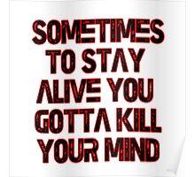 Twenty One Pilots - Migraine Lyrics  Poster