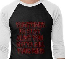 Twenty One Pilots - Migraine Lyrics  Men's Baseball ¾ T-Shirt