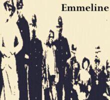 Suffragettes - Emmeline Pankhurst quote Sticker