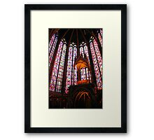 Awesome Saint Chapelle Framed Print