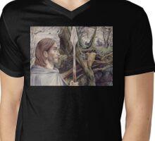 Beren the Solitary Outlaw Mens V-Neck T-Shirt