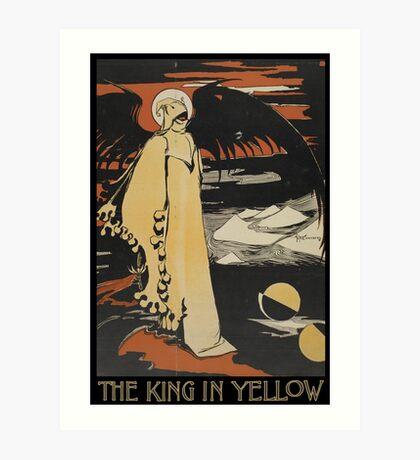 Robert W. Chambers' The King In Yellow Art Print