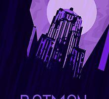 The Dark Knight - Gotham by holymattman