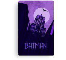 The Dark Knight - Gotham Canvas Print