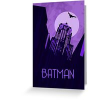 The Dark Knight - Gotham Greeting Card