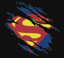 Superman T-shirt by Nargren