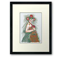 Velma Von Bon Bon - Monkey Business Framed Print
