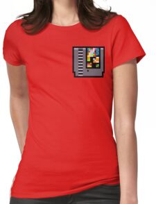 NES Cartridge Womens Fitted T-Shirt