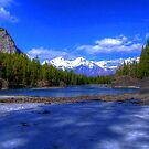 Bow River HDR, Canada by AnnDixon