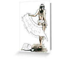 Midori Dusk - Swan Jovi Greeting Card