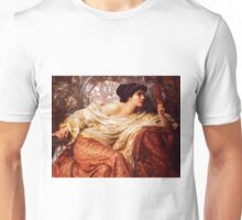 The Mirror By Frank Dicksee Unisex T-Shirt