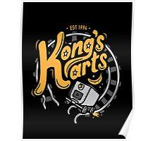 Kong's Karts Poster