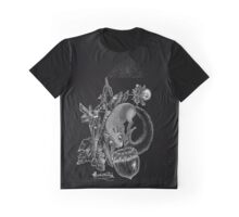 Dotwork Crystal Squirrel and the Acorn Graphic T-Shirt