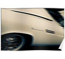1957 Thunderbird  Poster