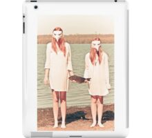 …I will cleanse myself of selfishness iPad Case/Skin