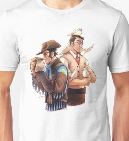 Bird friends Unisex T-Shirt