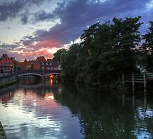 Fye Bridge, Norwich by Ursula Rodgers Photography