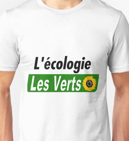 Europe Ecology, The Greens (Europe écologie – Les Verts EELV) Unisex T-Shirt