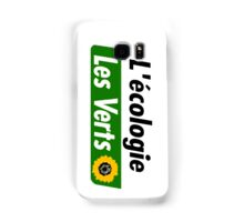 Europe Ecology, The Greens (Europe écologie – Les Verts EELV) Samsung Galaxy Case/Skin