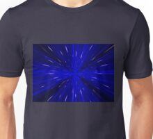 Space and time travel concept background Unisex T-Shirt