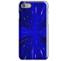 Space and time travel concept background iPhone Case/Skin