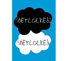 Sherlocked? Sherlocked Photographic Print