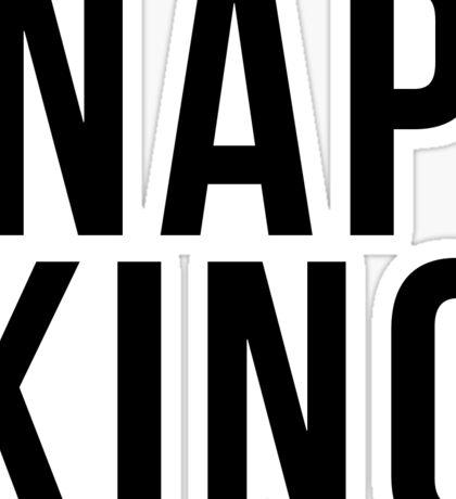 Nap King Sticker
