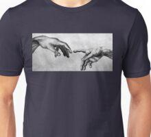 Michelangelo's Creation of Adam - Own Rendition Unisex T-Shirt