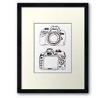 Nikon without White  Framed Print
