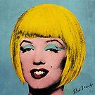 Bob Marilyn Monroe  by filippobassano