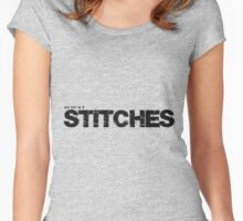 You keep me in Stiches. Women's Fitted Scoop T-Shirt
