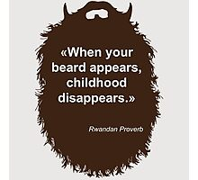 Beard-Collection - Childhood Photographic Print