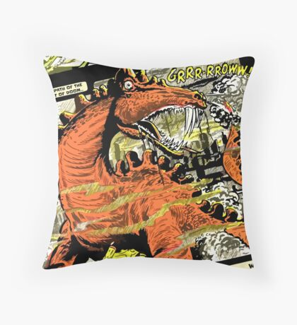 Atomic Sub - Diraje monster from Mercury! Throw Pillow