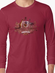Aussie Coat of Arms Long Sleeve T-Shirt