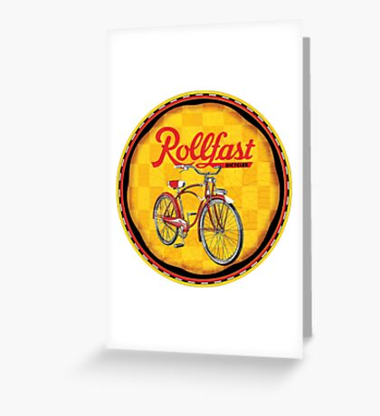 Rollfast Bicycles Greeting Card