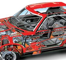 TR7 Triumph Cutaway Sticker