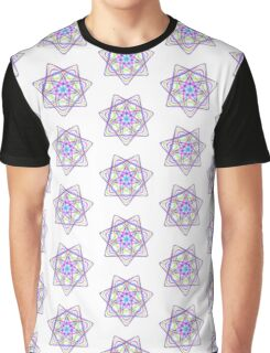 7 pointed spirograph 1 Graphic T-Shirt